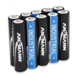 Ansmann Industrial Lithium AA Batteries (Box of 10)