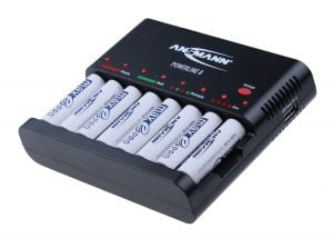 Ansmann Powerline 8 (including 8 x maxE PRO batteries)
