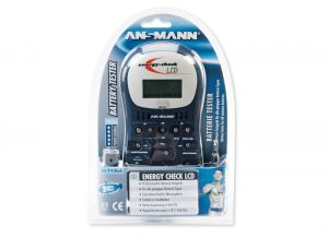 Ansmann Energy Check LCD Battery Tester