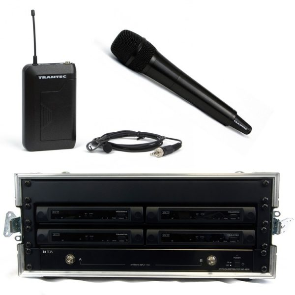 Trantec S4.10 4Way Rack'n'Ready Kit (Channel 38 or 70)