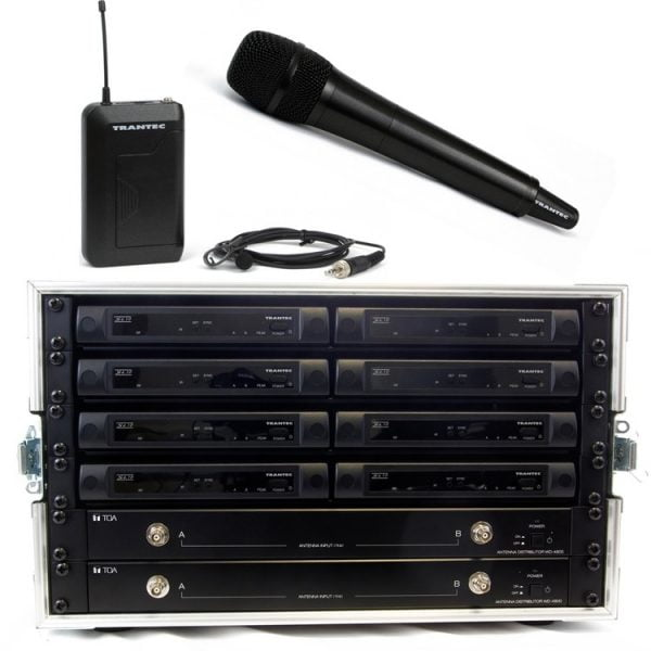 Trantec S4.10 8Way Rack'n'Ready Kit (Channel 38)