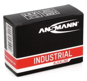Ansmann Industrial Alkaline Batteries - 10 Pack AA