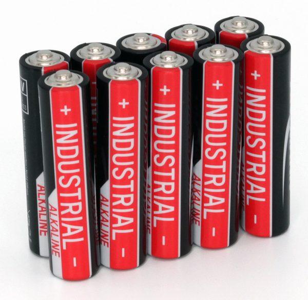 Ansmann Industrial Alkaline Batteries - 10 Pack AAA