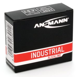 Ansmann Industrial Alkaline Batteries - 10 Pack AAA