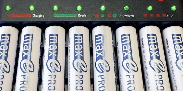 Ansmann Rechargeable Batteries & Chargers