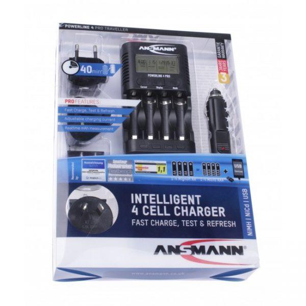 Ansmann Powerline 4 Pro Traveller