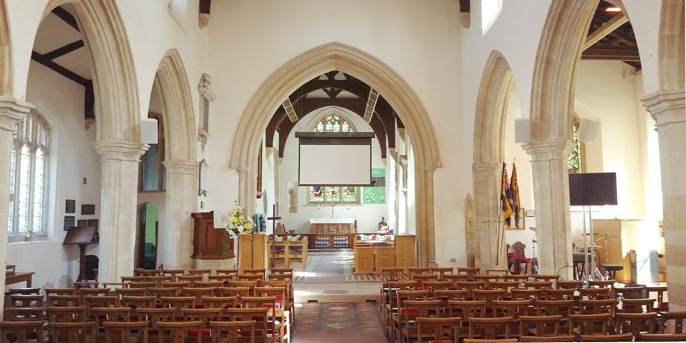 Choosing the right  AV System for your Church