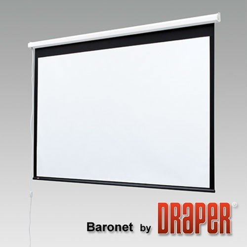 Draper Baronet 6' diag (4:3) 145x108cm screen