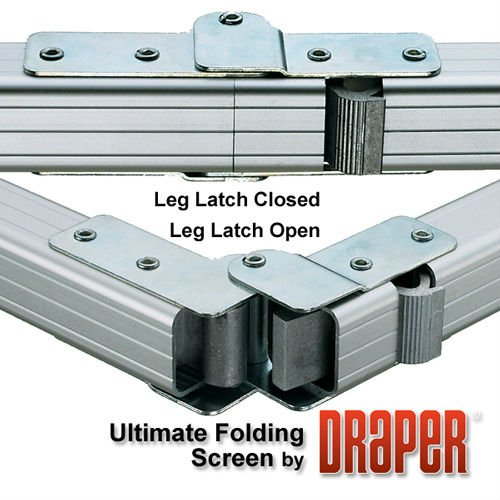 Draper Ultimate Folding Screen FRONT Projection - 90'' Diag