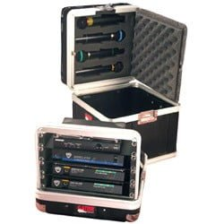 Gator GM-4WR - 4 x wireless mic system hardcase