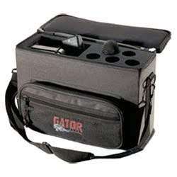 Gator GM-5W - Padded case for up to 5 wireless mic systems