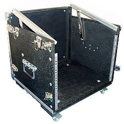 Gothard Mixer / Rack case 10U Semi-Flight