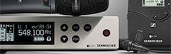Radio Microphones - Menu Header