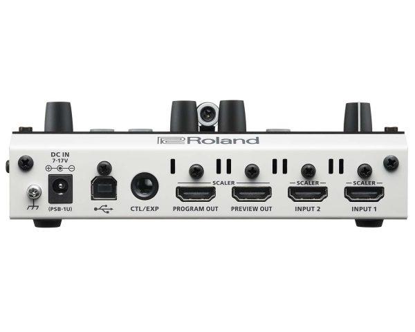 Roland-V-02HD - Rear