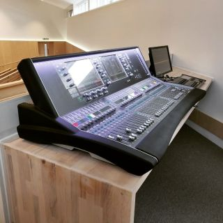 We recently installed PA, AV and streaming systems as part of a major refurbishment project for a church in Guildford.   This included professional products from @allenandheath @roland_uk @zero88 @birddog_gear @kramerelectronicsltd @yamaha_proaudio_official @lgcommdisplays @surgexav and many more!  Bespoke operator consoles designed and built in-house by @dmmusicltd  #proav #installation #audiovisual #bespoke #consultants #guildford #dmmusic