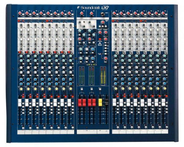 Soundcraft LX7ii - 16 channel