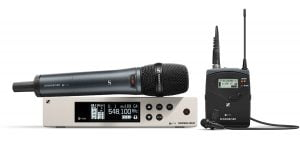 Sennheiser ew 100 G4-ME2 & 835-S - Lapel / Handheld Set