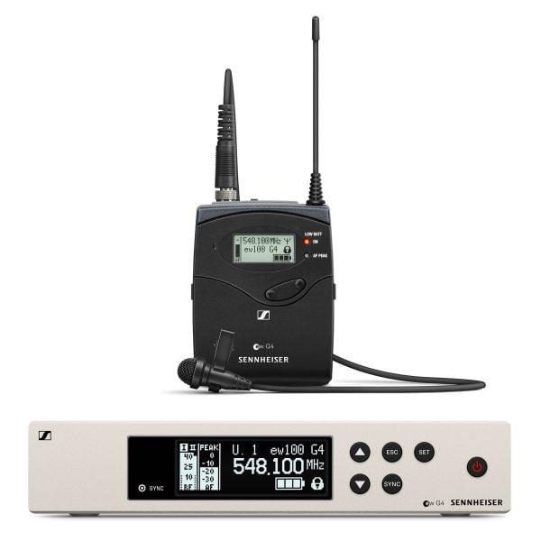 Sennheiser EW100-G4 ME2 Lapel Mic Set