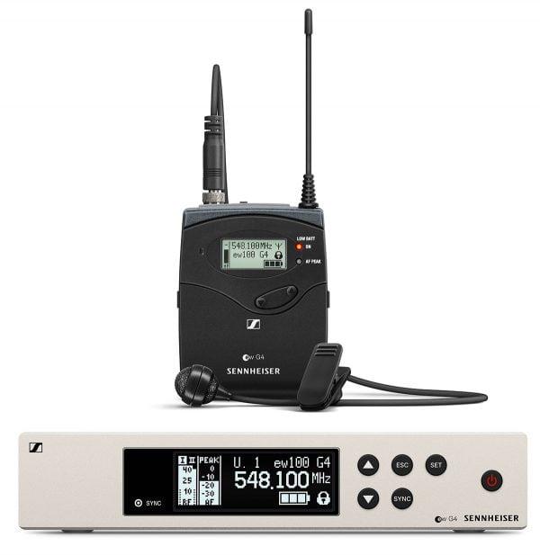 Sennheiser EW100-G4 ME4 Lapel Mic Set