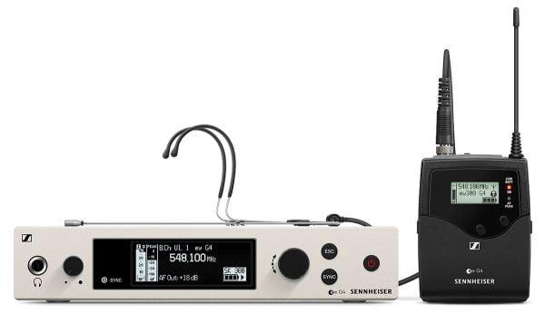Sennheiser ew 300 G4-HEADMIC1-RC Bodypack Headmic Set