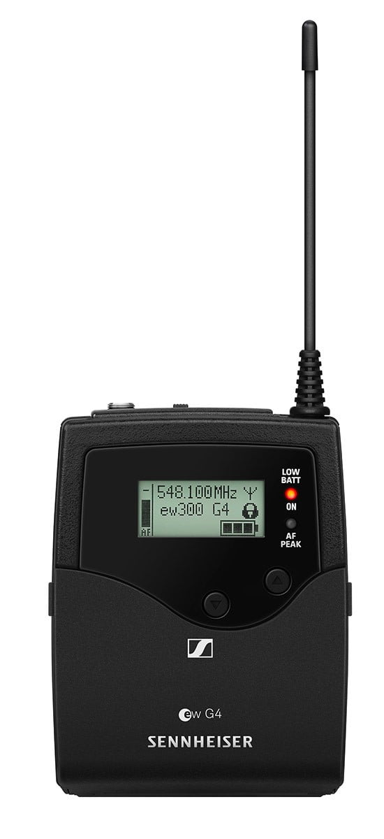 Sennheiser SK 300 G4-RC Bodypack Transmitter