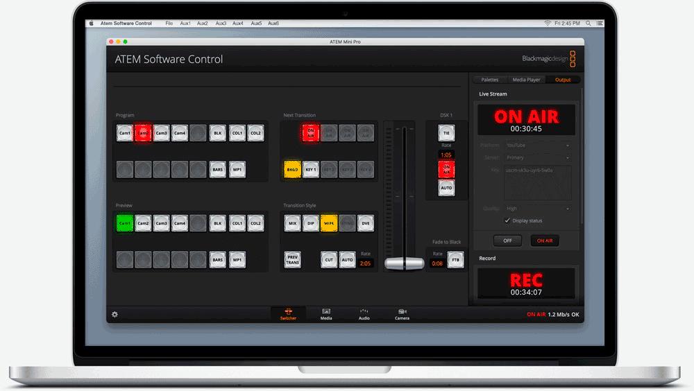 Blackmagic Design Atem Mini Pro Dm Music Ltd
