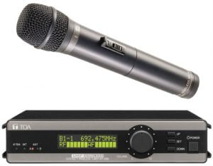 TOA 5000 Series True Diversity - Dynamic Vocal Mic