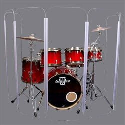 Grace Acoustics Drum Screen - 6 panel