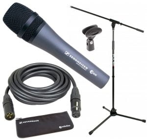 Vocal mic, stand & lead package #2